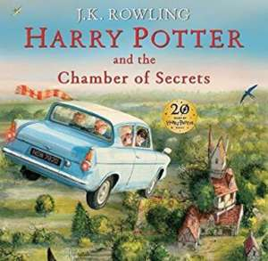 Harry Potter and the Chamber of Secrets: Illustrated Edition RRP £30 Amazon £15