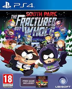 South Park: The Fractured But Whole PS4  £17.51 - Amazon (£19.50 without prime)