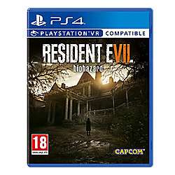 Resident Evil 7 Biohazard (PS4 - PSVR compatible) £15 at Tesco Direct (free C&C)