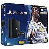 Ps4 pro with fifa 18 - £299 using code tdx-phj4 at Tesco