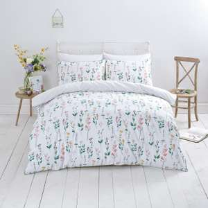 Sainsbury's Home Garden Floral Duvet Cover Set - Double (£6.30) / Kingsize (£7.50) @ Argos