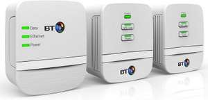 BT Mini Wi-Fi 600 Home Hotspot Powerline Adapter Kit (Pack of Three) £39.99 Delivered (Re-Certified Refurbished) Delivered @ Telephones Online via eBay/Amazon