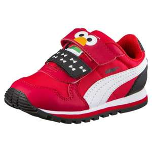 Puma sesame street kids Elmo trainers extra 20% off sale - £3.95 delivery