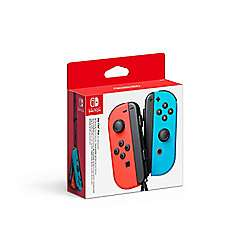 Nintendo Switch Joy-Con Controller Pair - Neon Red/Neon Blue + FREE Joy-Con Charging Dock for Nintendo Switch £65 with code at Tesco