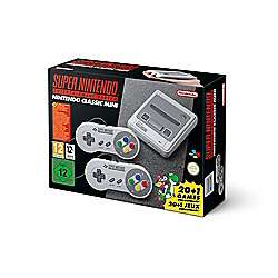 Nintendo Classic Mini: Super Nintendo Entertainment System (SNES) £69 with code at Tesco