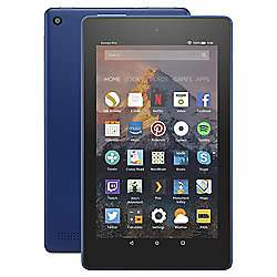 Amazon Fire 7 Tablet with Alexa Assistant 7 inch 16GB with Wi-Fi (2017) - Marine Blue £39 with code at Tesco