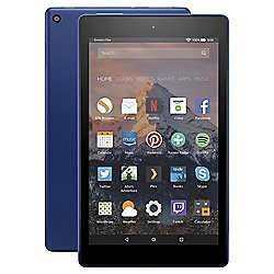 Amazon Fire HD 8 Tablet with Alexa Assistant 8 inch 16GB with Wi-Fi (2017) - Marine Blue £54 with code at Tesco
