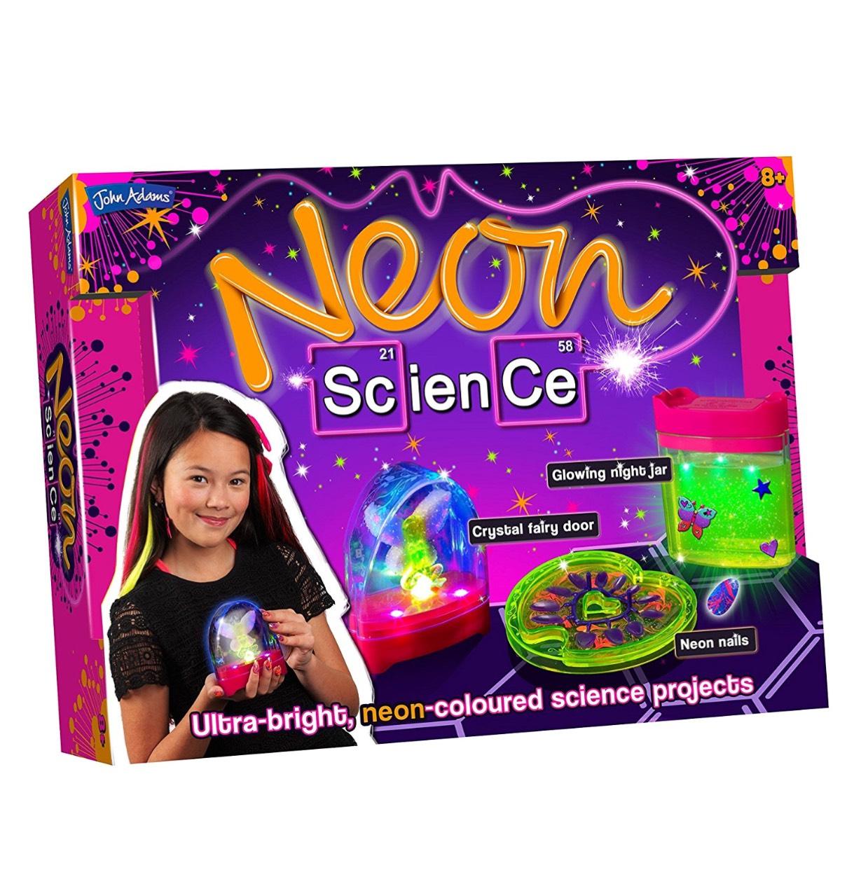 John Adams Neon Science Toy (Multi-Colour) £9.20 (Prime) / £13.95 (non Prime) at Amazon
