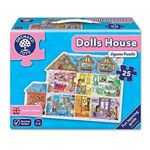 Orchard Toys Dolls House puzzle £3 (Prime) / £7.75 (non Prime) at Amazon