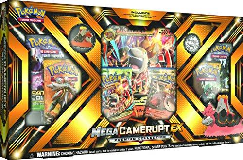 Pokemon Mega Camerupt-EX Premium Collection now £16.99 delivered prime (£19.99 non prime) @ Amazon