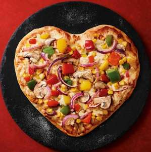 Heart-shaped pizzas - £2  @ Asda instore
