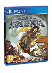 Chaos on Deponia (PS4) £13.39 Delivered @ Base