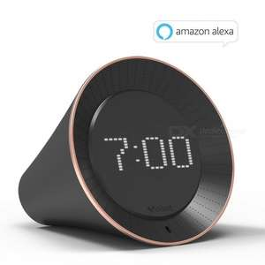 VoBot - Alexa enabled LED Alarm Clock with Built in Amazon Alexa - Free shipping £31.01 @ DX