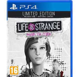 Life is Strange Before the storm: Limited Edition (PS4/XB1) £26.99 @ Grainger Games