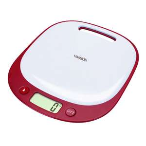 Hanson kitchen scales, £3.00 plus £3.99 delivery (free delivery on £35+) @ xs-stock
