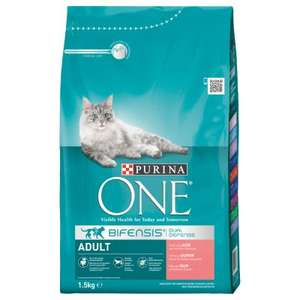 Purina ONE dry cat food 3kg £6.69 + £2.99 delivery at Zooplus