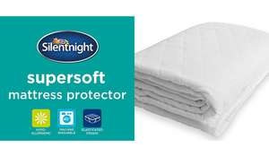 Supersoft Silentnight double* mattress protector was £14 now £7 @ asda george