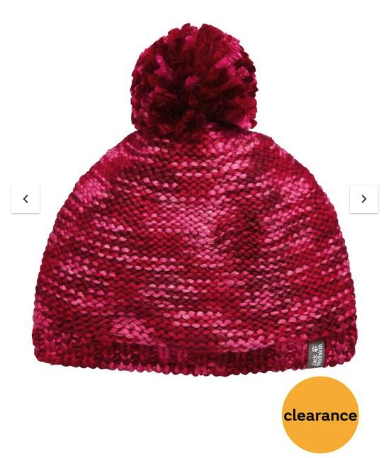 Jack Wolfskin childrens knit beanie LOW STOCK ,size S,M £12 @ very - Free c&c