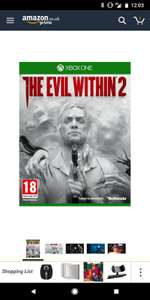 The evil within 2 xbox \ ps4 £11 prime / £12.99 non prime @ Amazon