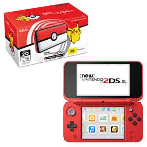 New Nintendo 2DS XL Pokeball Edition console + New Super Mario Bros. 2 physical game + Hori Nintendo 3DS Pikachu Hard Pouch Black. £150 with code TDX-PHJ4 @ Tesco Direct
