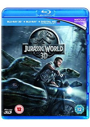 jurassic World [Blu-ray 3D + Blu-ray  + UV Code £4.49 @ base