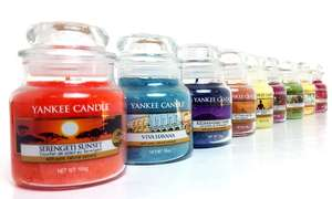 Yankee Candle Six Assorted Small Jars £20.99 (Delivery £1.99) @ Groupon