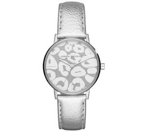 Armani exchange ladies leather strap watch was £99.99 now £49.99 @ argos