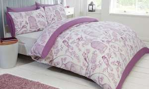 Rapport Home Duvet Sets in Choice of Size and Design (Single £5 & £1.99 Delivery!) @ Groupon