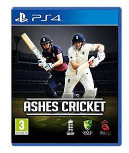 Ashes cricket Ps4 amazon - £16 Prime / £17.99 non Prime @ Amazon