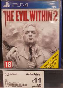 The Evil Within 2 (XO/PS4) £11 Instore @ ASDA