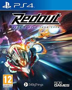 Redout Lightspeed Edition (PS4/Xbox One) £12.49 / Capture the Flag (PS4) £12.54 Delivered @ Amazon.es