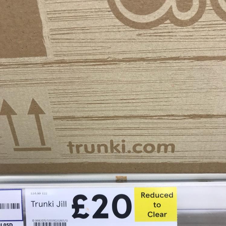 Trunki jack and Jill £20 @ Tesco instore
