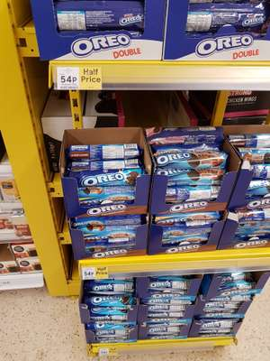 Oreos of all kinds 54p a pack at Tesco country wide