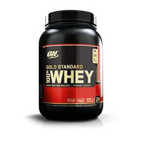 Optimum Nutrition(ON) Gold Standard Whey Protein Powder, 908 g - 20% off £17.99 delivered @ Amazon