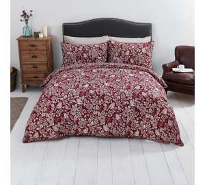 Sainsbury's Home Duvet Cover Sets 1/2 price all sizes @ Argos - e.gs in desc