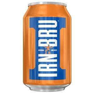 Irn Bru 48 cans for £9 at Farmfoods