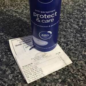 Nivea deodorant 44p in store at Boots