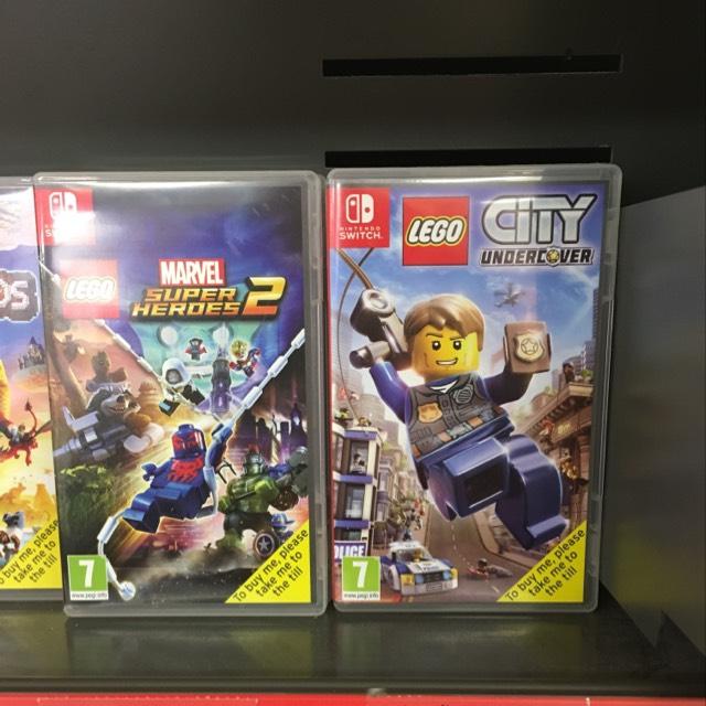 Lego City Undercover (Nintendo Switch) £16.99 instore @ Sainsbury's