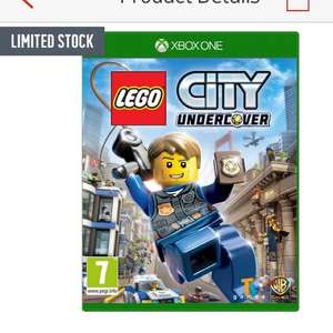 Lego City Undercover PS4 & XB1 £16.99 @Argos