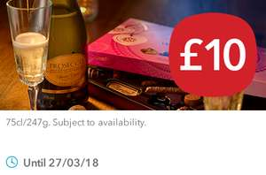 Co-op Prosecco 75cl + Thorton's with Love Chocolate Box 247g For £10