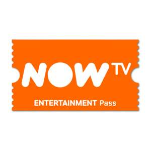 NOW TV Entertainment Pass for £3.49 each month, for 4 months