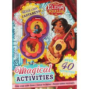 Disney Elena of Avalor - Magical Activities with  two cute castanets only £1.40 Free C&C @ The Works