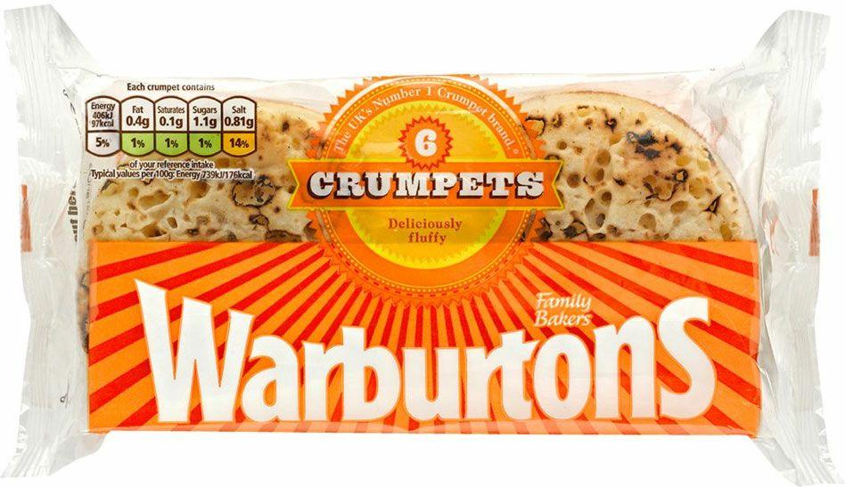 Warburtons Crumpets (6 pack) - 65p @ Sainsbury's