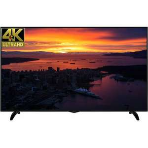 "Techwood 65AO6USB 65"" Smart 4K Ultra HD TV with Freeview Play - Black £599 / £499 after cashback@ AO"