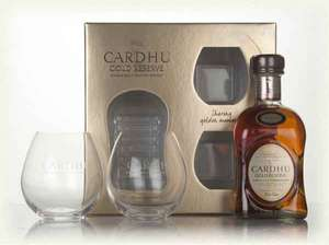 Cardhu Gold Reserve 70cl Gift Pack £24.95 (£29.84 delivered) from Master of Malt online