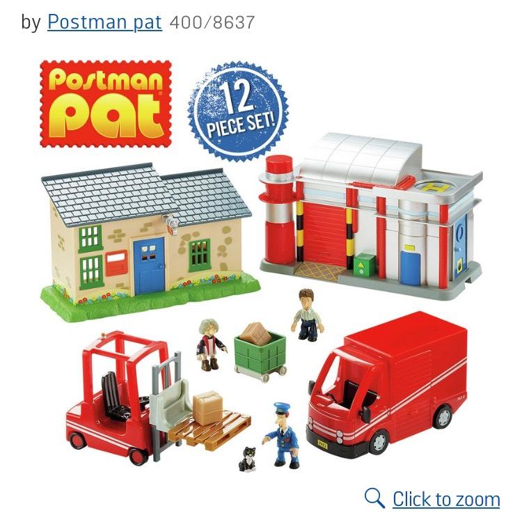 Postman pat World Of Pat Playset £12.99 @ Argos