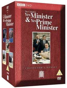 The Complete Yes Minister & Yes, Prime Minister   Delivery to the UK only. Free UK delivery on orders over £10. Usually dispatched within 24 hours. @HMV