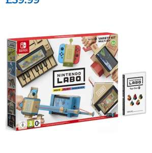 Pre-Order - Nintendo Labo Variety Kit 1 Toy Con 1 £49.99 / Toy Con 2 £59.99 (Nintendo Switch) Delivered @ ToysRUs