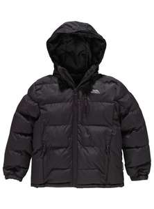 Trespass tuff black padded jacket age 5-6 years ONLY, was £14.99 now £8.99 @ argos