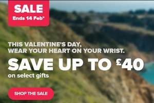 V-Day Sale @ Fitbit (Save up to £40)